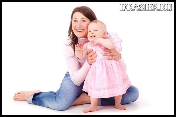 Как одинокой маме воспитывать девочку - основные рекомендации 1