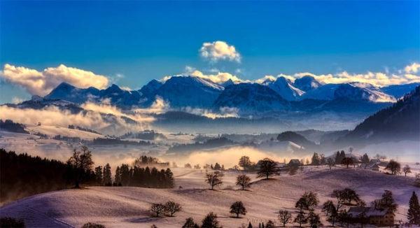 Красивые и прикольные зимние картинки - красочные и удивительные 4