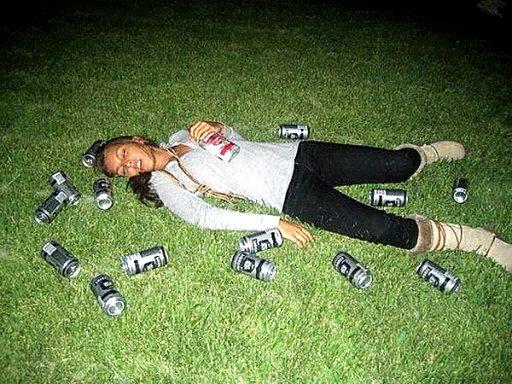 Смешные фото и картинки про пьяных девушек - самые ржачные 5