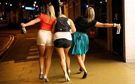Смешные фото и картинки про пьяных девушек - самые ржачные 9