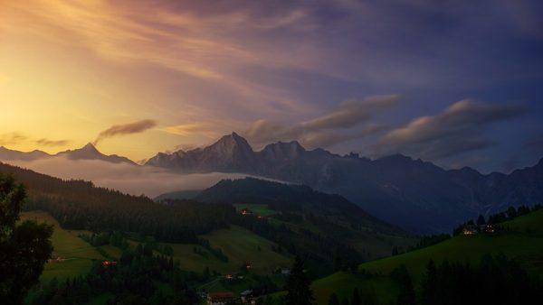 Красивые и удивительные картинки, фото гор - лучшая подборка 11