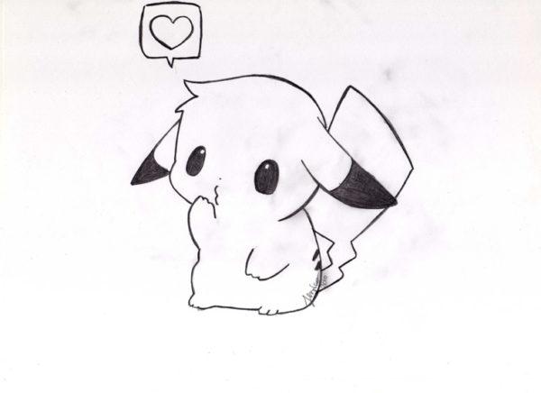 Красивые рисунки карандашом для срисовки - лучшая подборочка 1