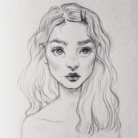 Красивые рисунки карандашом для срисовки - лучшая подборочка 3