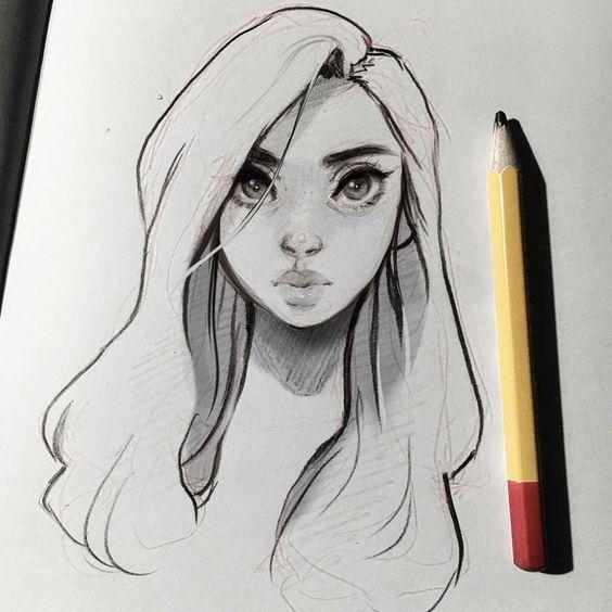 Красивые рисунки карандашом для срисовки - лучшая подборочка 6
