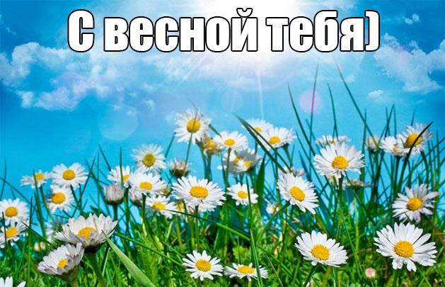 Весна пришла картинки с надписями - самые красивые и прикольные 5