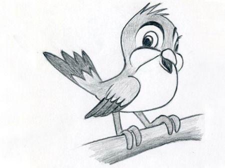 Картинки для срисовки животные - очень красивые, легкие и простые 15