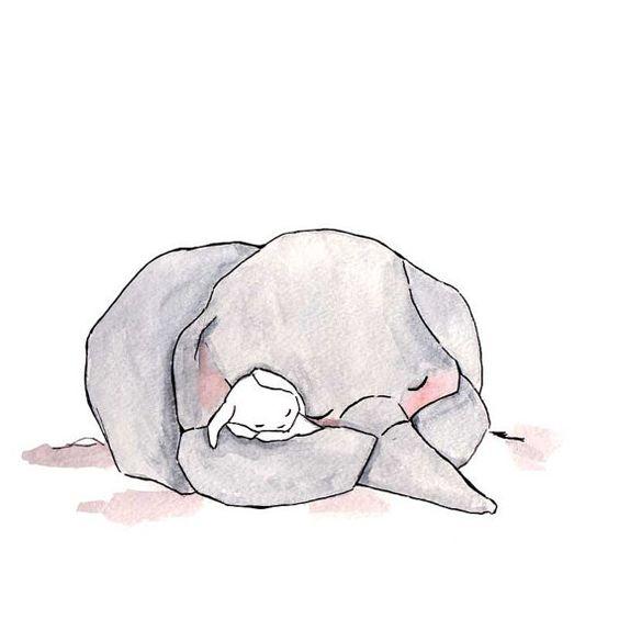 Картинки для срисовки животные - очень красивые, легкие и простые 5