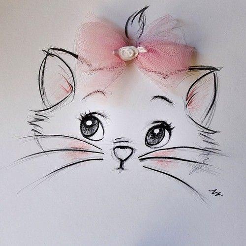 Картинки для срисовки животные - очень красивые, легкие и простые 7