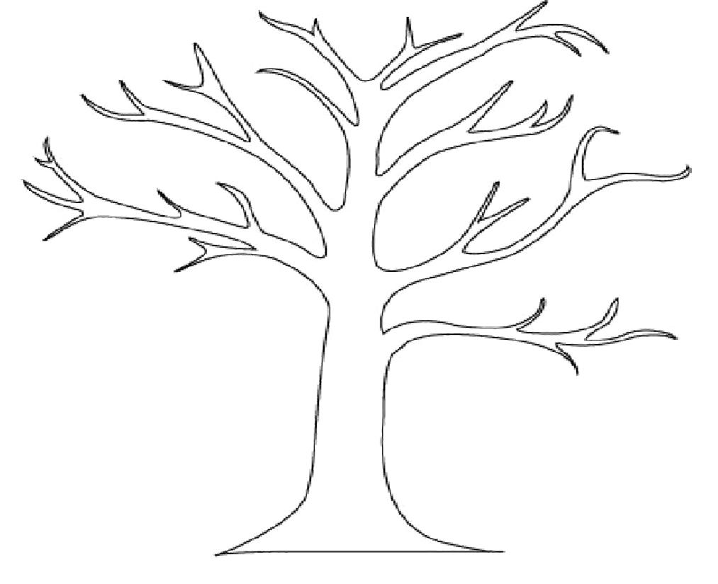 Красивые картинки дерево без листьев - скачать бесплатно для детей 1