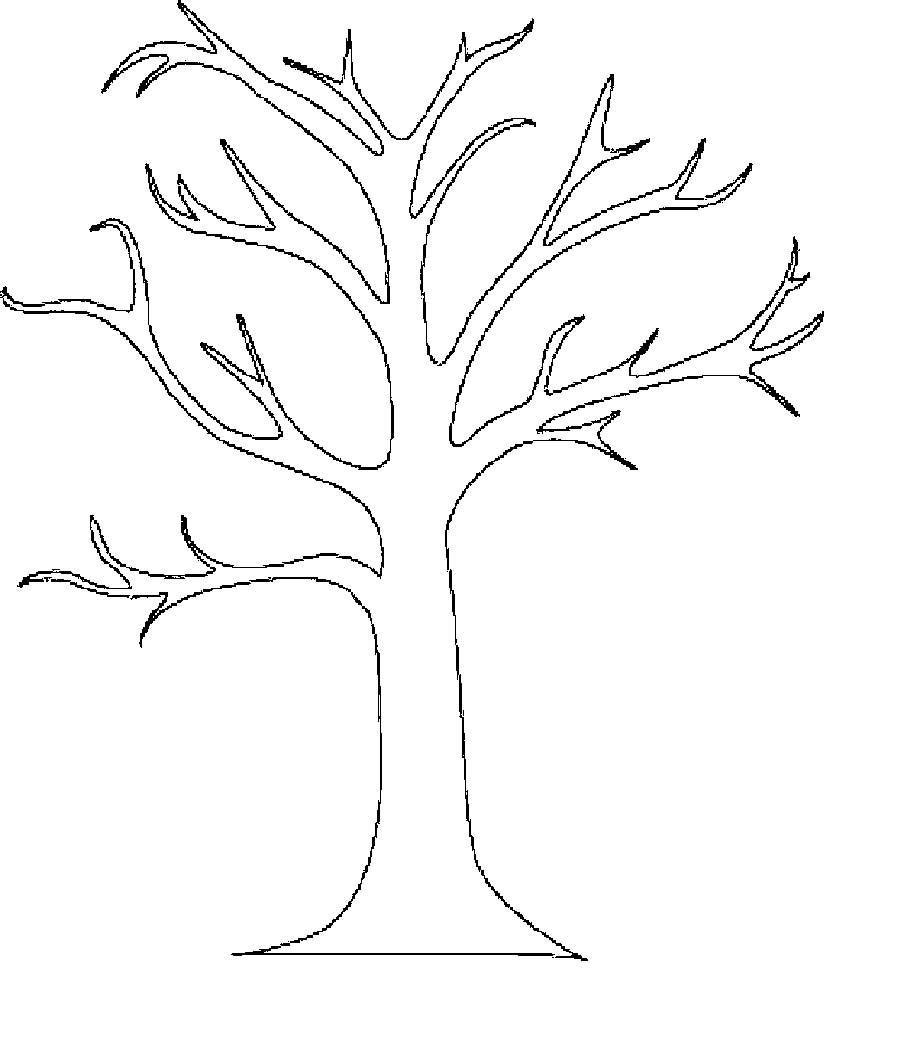 Красивые картинки дерево без листьев - скачать бесплатно для детей 3