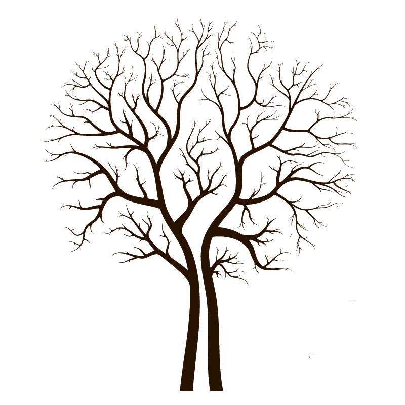 Красивые картинки дерево без листьев - скачать бесплатно для детей 5