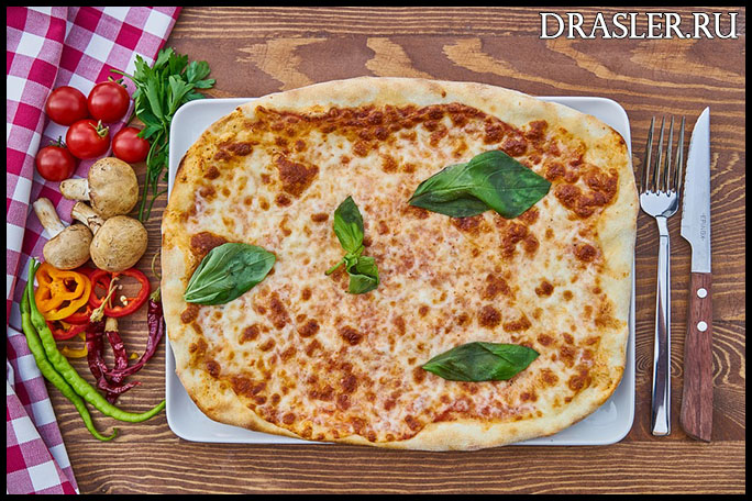 Пицца - полезный фастфуд. История появления и распространение 1