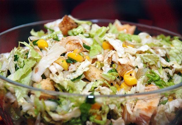 Салат из пекинской капусты пошаговый рецепт, как приготовить 1