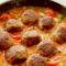 Как приготовить ароматные тефтели с овощным острым соусом по-мексикански 4