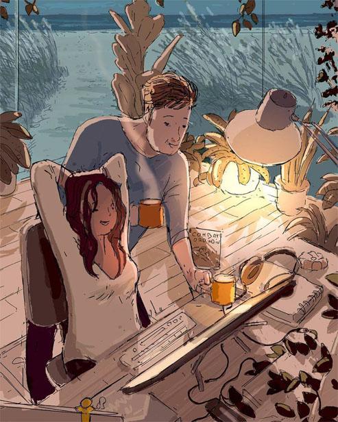 Красивые добрые и милые картинки - интересная подборка 15
