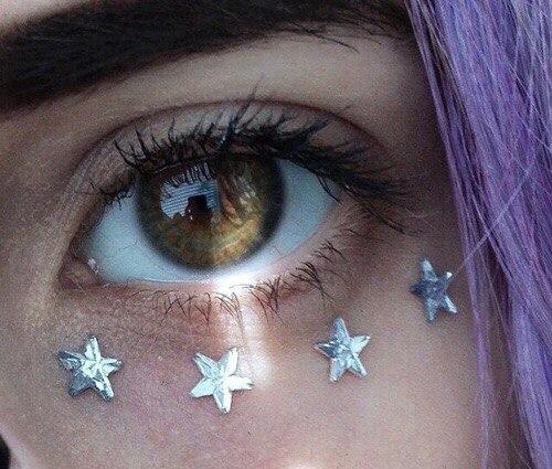 Красивые картинки глаз на аву и аватарку для девушек - подборка 3