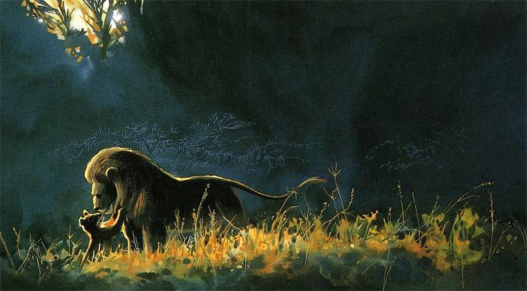 Прикольные и красивые картинки льва и львов - сборка изображений 14