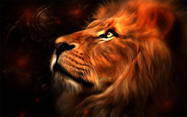 Прикольные и красивые картинки льва и львов - сборка изображений 6