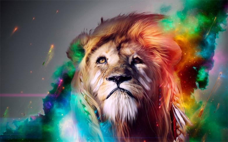Прикольные и красивые картинки льва и львов - сборка изображений 7