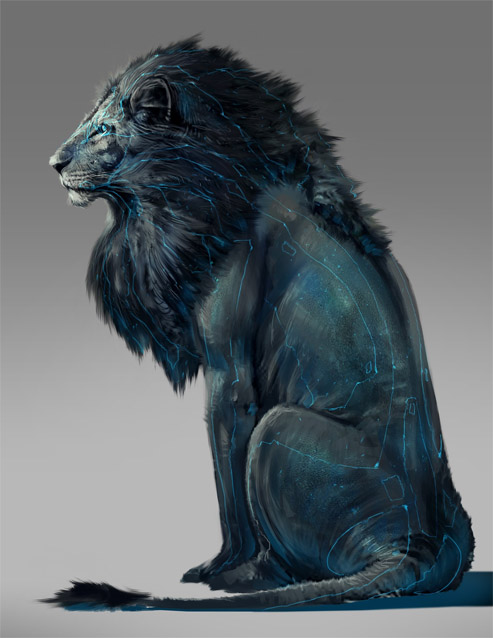 Прикольные и красивые картинки льва и львов - сборка изображений 8