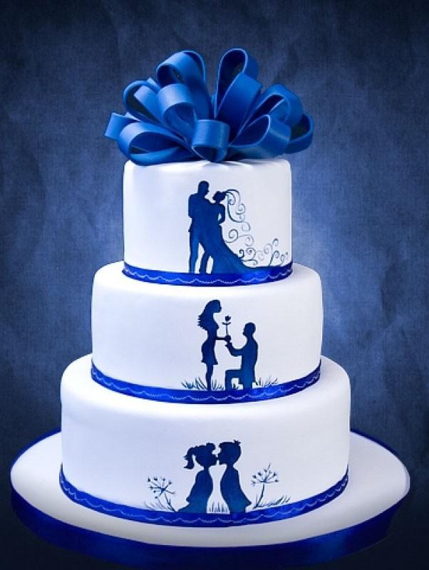 Значение свадебного торта и его оформление - самое интересное 2