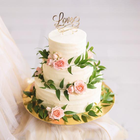 Значение свадебного торта и его оформление - самое интересное 3