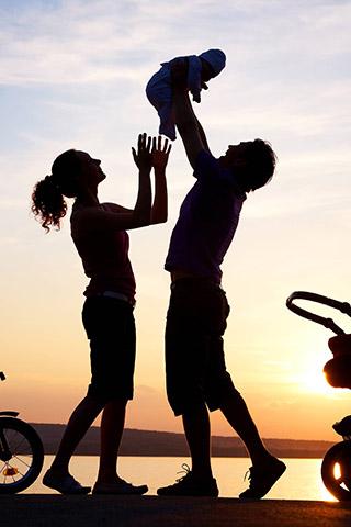 Красивые картинки семьи на телефон на заставку - подборка 8