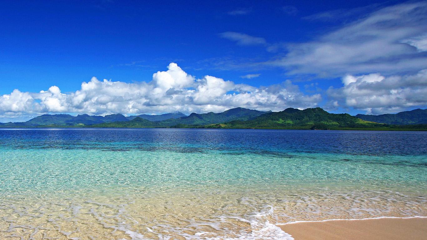 Красивые обои моря и пляжа на рабочий стол - подборка 2018 9
