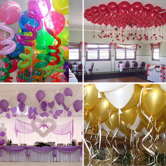 Как украсить воздушными шарами помещение, какие выбрать 2