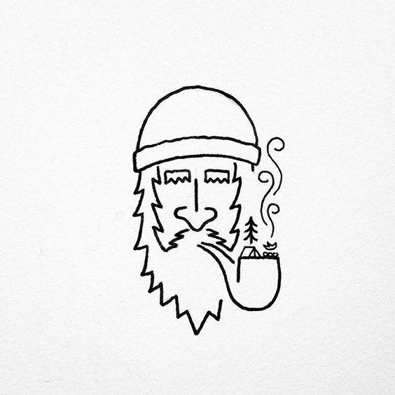 Картинки для срисовки легкие, летние, простые - лучшие рисунки 4