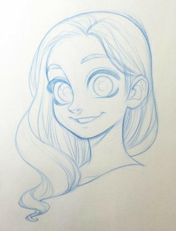Милые и прикольные картинки для срисовки девочкам 12 лет - сборка 15