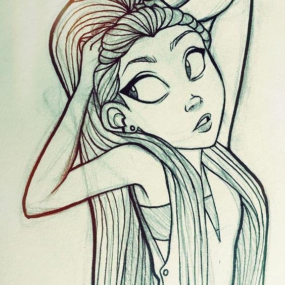 Милые и прикольные картинки для срисовки девочкам 12 лет - сборка 17