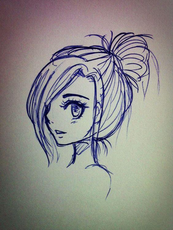 Милые и прикольные картинки для срисовки девочкам 12 лет - сборка 5