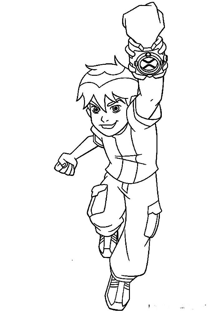 Прикольные раскраски для мальчиков - крупные картинки, рисунки 15