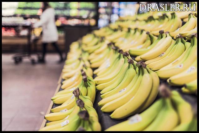 Как выбрать спелые бананы Советы по выбору спелых бананов 1