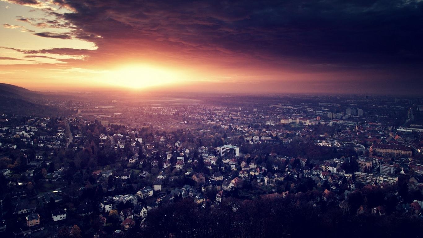 Классные и необычные картинки городов для рабочего стола 14