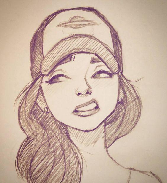Самые прикольные и классные картинки для девочек для срисовки 11