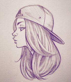 Самые прикольные и классные картинки для девочек для срисовки 13