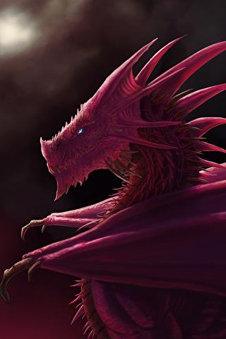 Скачать картинки драконов на заставку телефона - самые лучшие 11