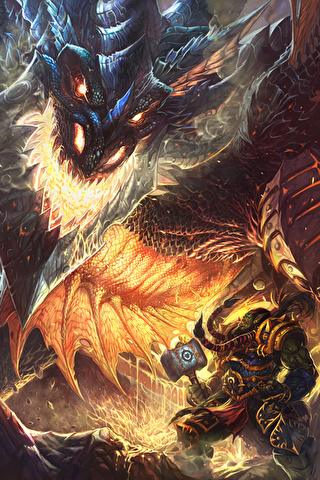 Скачать картинки драконов на заставку телефона - самые лучшие 15