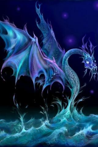 Скачать картинки драконов на заставку телефона - самые лучшие 16