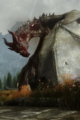 Скачать картинки драконов на заставку телефона - самые лучшие 8