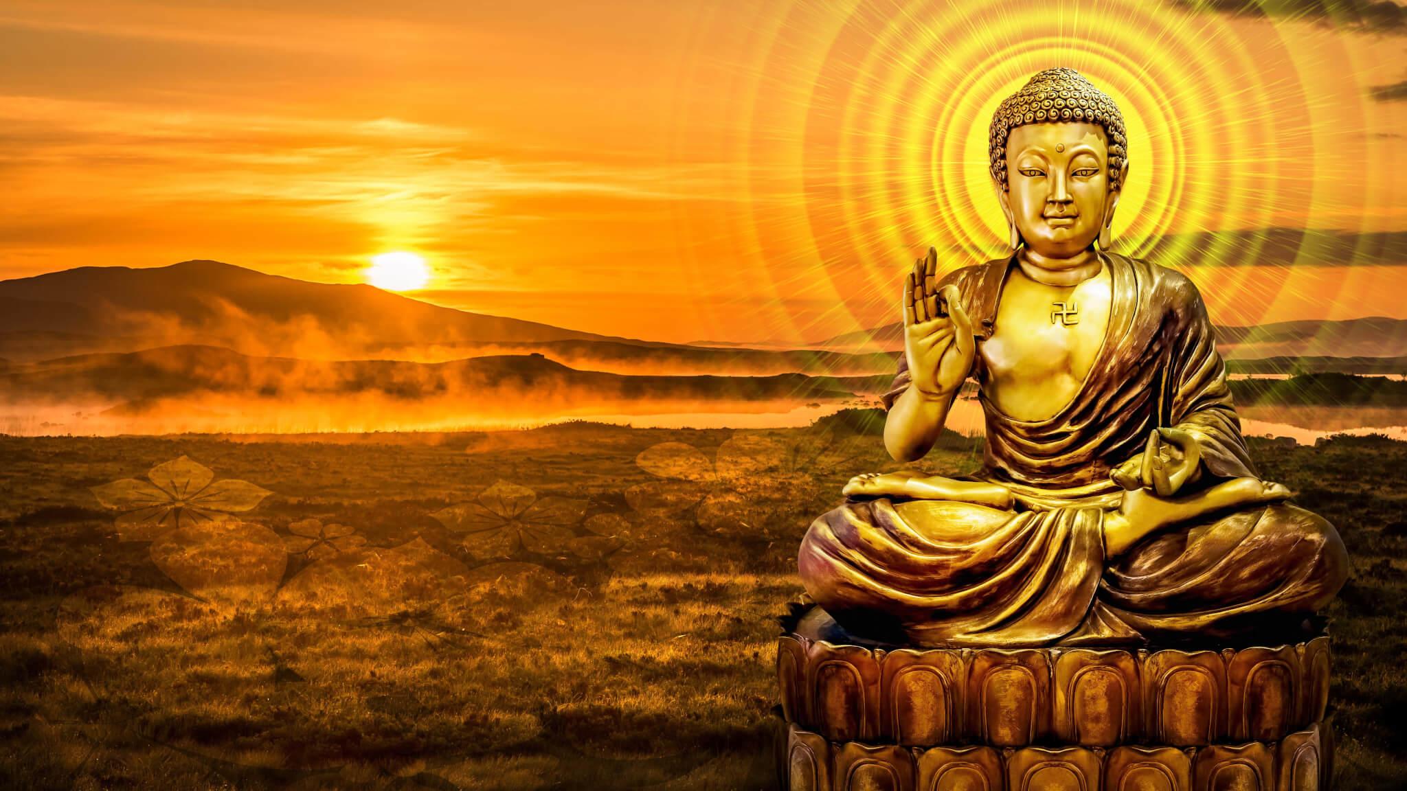 Красивые и интересные картинки Будда - подборка 2018 7