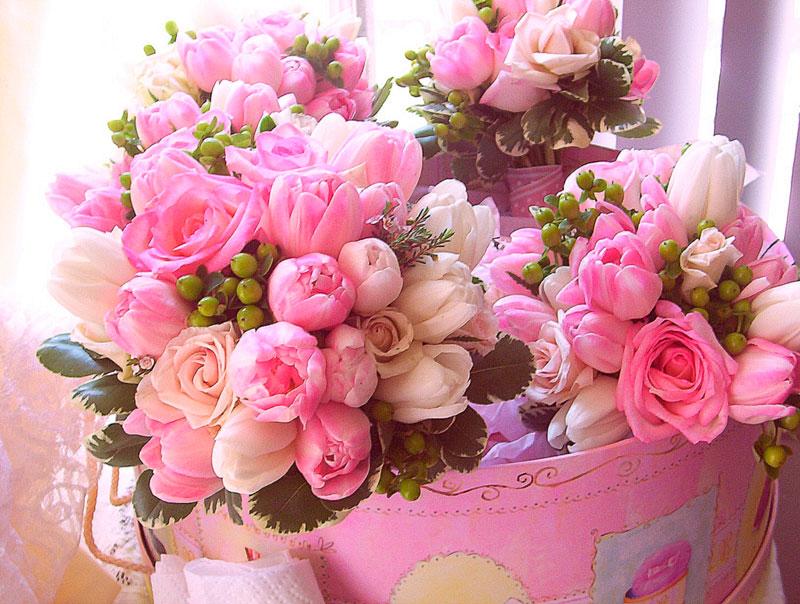 Самые красивые и удивительные букеты роз - 25 фото 25