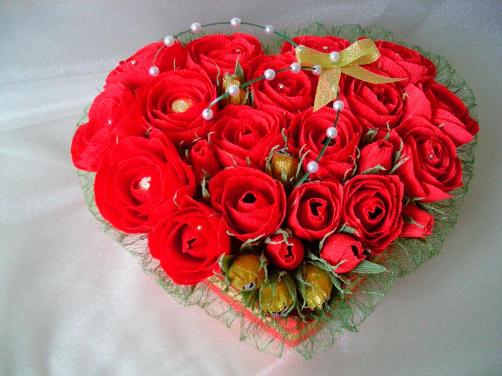 Самые красивые и удивительные букеты роз - 25 фото 12