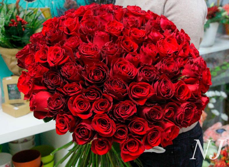 Самые красивые и удивительные букеты роз - 25 фото 14