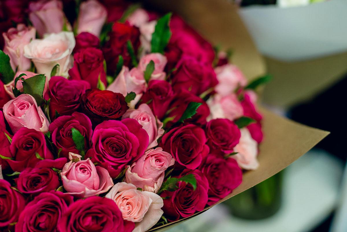 Самые красивые и удивительные букеты роз - 25 фото 15