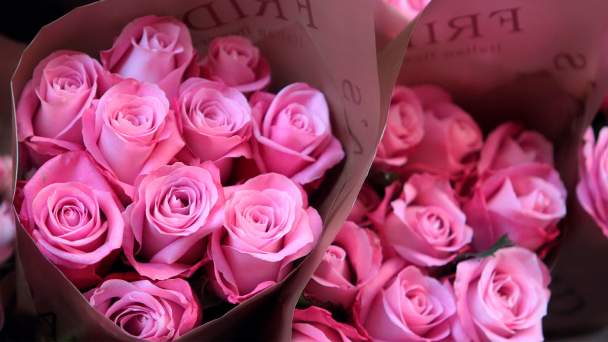 Самые красивые и удивительные букеты роз - 25 фото 16