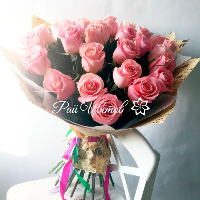 Самые красивые и удивительные букеты роз - 25 фото 18