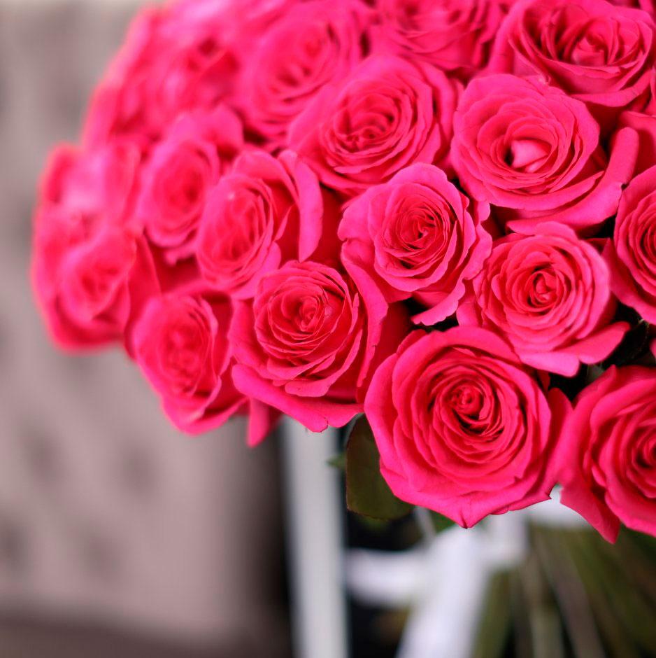 Самые красивые и удивительные букеты роз - 25 фото 24